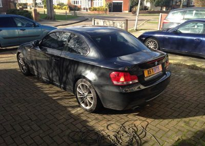 1 Series Coupe Window_Tinting