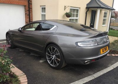 Aston Martin Rapide Grey 2015 Window Tinting (2)