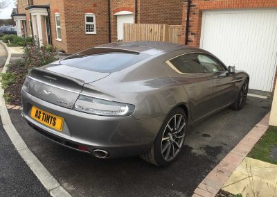 Aston Martin Rapide Grey 2015 Window Tinting