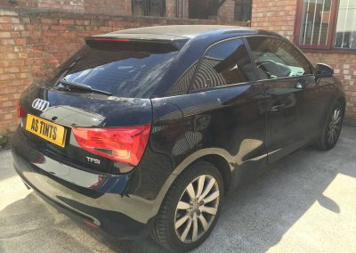Audi A1 Black 2013 Window Tinting