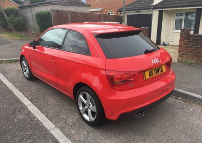 Audi A1 window_tinting_surrey