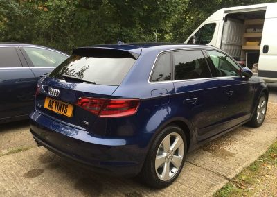 Audi A3 Blue 2015 Window Tinting