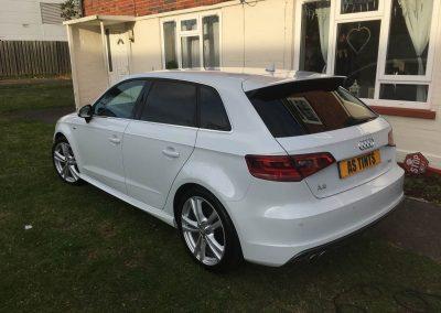 Audi A3 window_tinting_surrey