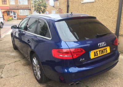 Audi A4 Avant Blue 2014 Window Tinting