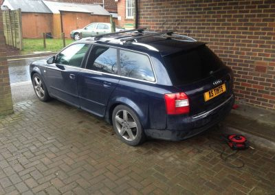 Audi A4 Window_Tinting