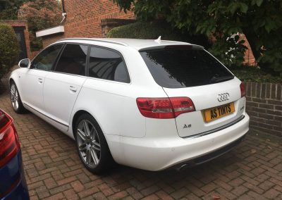 Audi A6 Estate window_tinting_surrey