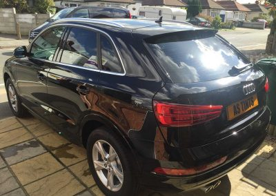 Audi Q3 Black 2015 Window Tinting
