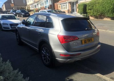 Audi Q5 Grey 2009 Window Tinting
