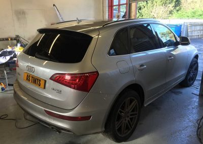 Audi Q5 Silver 2009 Window Tinting