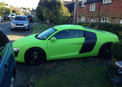 Audi R8 Window_Tinting