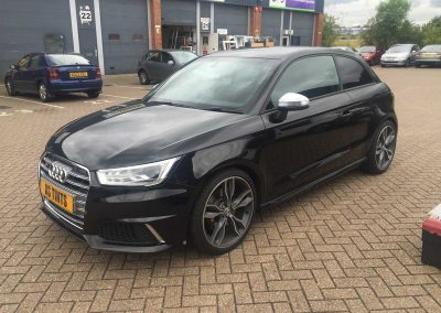 Audi S1 Black 2015 (2) Window Tinting