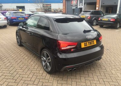 Audi S1 Black 2015 Window Tinting