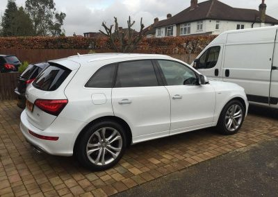 Audi SQ5 White 2015 (2) Window Tinting