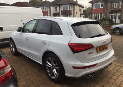 Audi SQ5 White 2015 Window Tinting