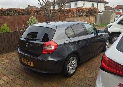 BMW 1 Series Grey 2004 Window Tinting