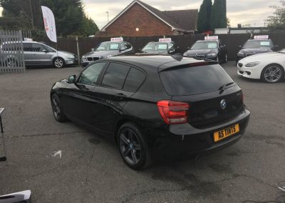 BMW 1 Series window_tinting_surrey