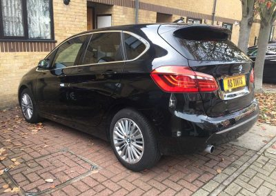 BMW 2 Series Tourer Black 2015 Window Tinting