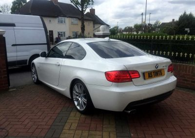BMW 3 SERIES COUPE WHITE