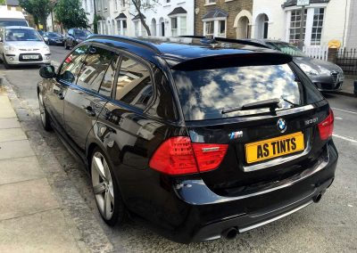 BMW 3 SERIES E91 BLACK