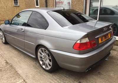 BMW 3 Series E46 Grey 2006 Window Tinting