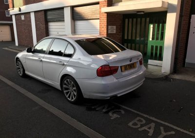 BMW 3 Series E90 window_tinting_surrey