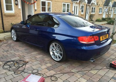 BMW 3 Series E92 Blue 2007 Window Tinting