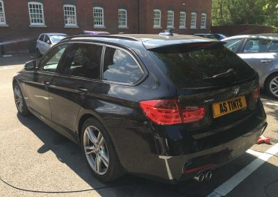 BMW 3 Series Estate Black 2015 Window Tinting