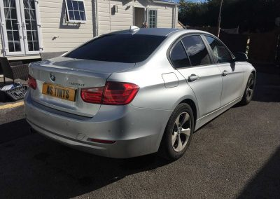 BMW 3 Series F30 Silver 2014 Window Tinting