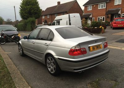 BMW 3 Series Saloon Silver E46
