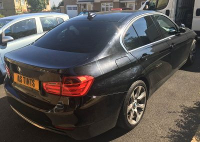 BMW 3 Series Saloon window_tinting_surrey