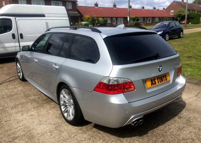 BMW 5 SERIES ESTATE SILVER