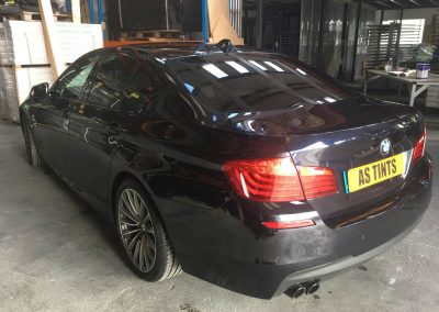 BMW 5 Series Blue window_tinting_surrey