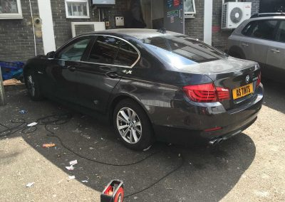 BMW 5 Series F10 Grey 2011 Window Tinting