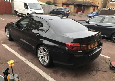 BMW 5 Series M Sport Blue window_tinting_surrey