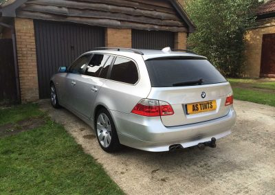 BMW 5 Series Touring Silver 2004