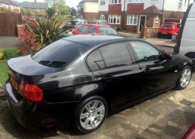 BMW E90 BLACK