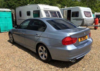 BMW E90 BLUE
