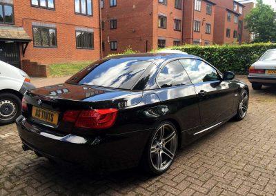 BMW E93 BLACK