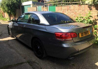 BMW E93 GREY