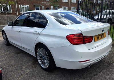 BMW F30 WHITE