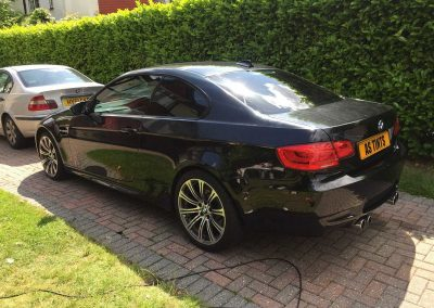 BMW M3 Black 2009 Window Tinting