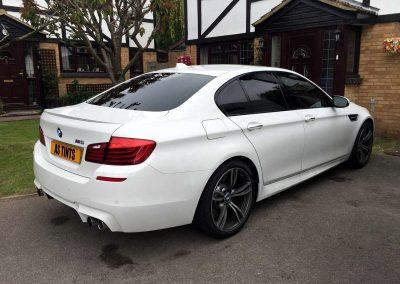 BMW M5 WHITE 2