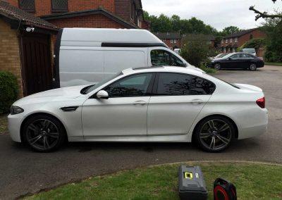 BMW M5 WHITE 3