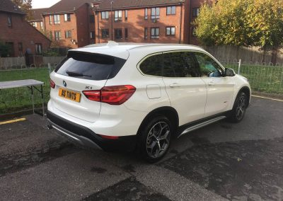 BMW X1 window_tinting_surrey