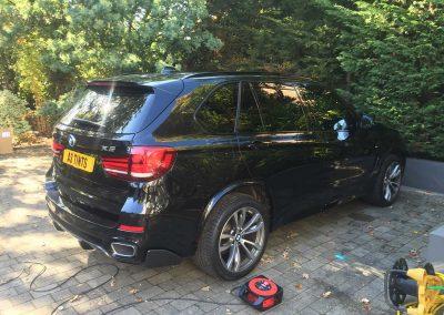 BMW X5 Black 2015 Window Tinting (2)