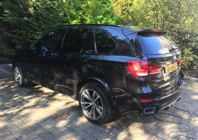 BMW X5 Black 2015 Window Tinting