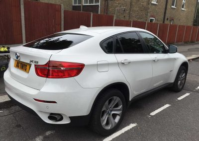 BMW X6 White 2010 (2) Window Tinting