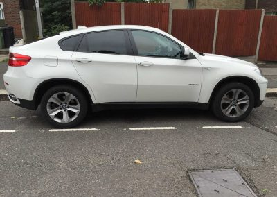 BMW X6 White 2010 (3) Window Tinting
