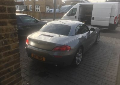 BMW Z4 window_tinting_surrey