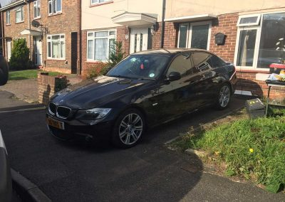 Black 3 Series Saloon